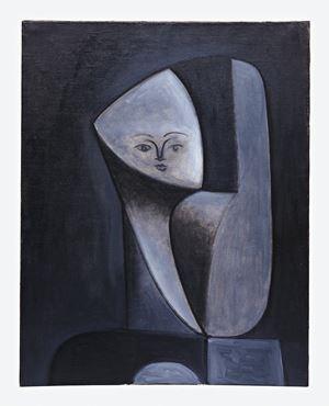 Tête de femme (Head of a Woman) by Pablo Picasso contemporary artwork painting