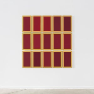 Deep Red Memory by Winston Roeth contemporary artwork