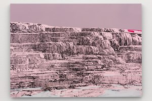 Pink and White Terraces by Whitney Bedford contemporary artwork