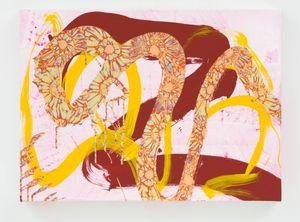 Sunflower by Max Gimblett contemporary artwork