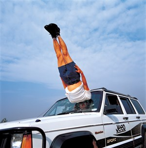 Li Wei falls to the Car 042-01 by Li Wei contemporary artwork