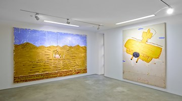 Contemporary art exhibition, Rose Wylie, What Means Something at Choi&Lager Gallery, Cologne