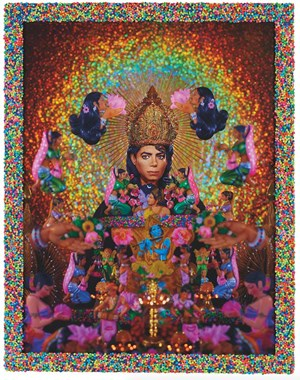 Loving you (Hommage to Michael Jackson) by Pierre et Gilles contemporary artwork