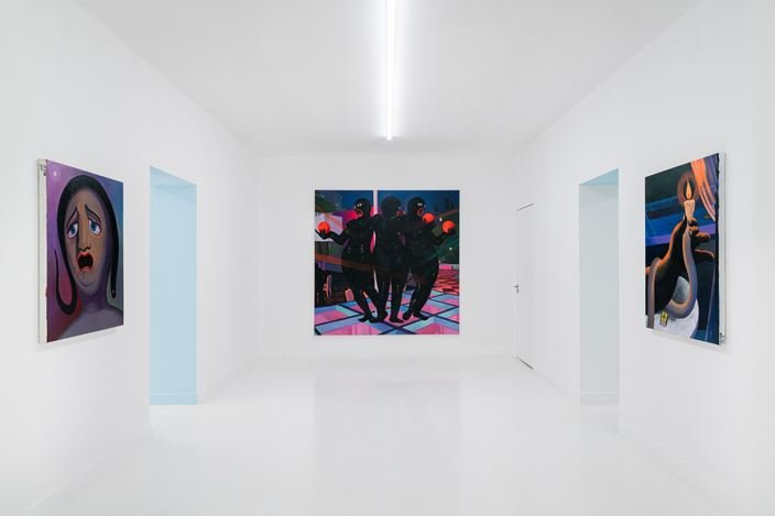 Exhibition view: Cai Zebin, A Revisit at 2 bis rue Perrel, Capsule Shanghai (12 May–11 July 2020). Courtesy Capsule Shanghai.