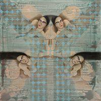 Draped by Antibody by Hayv Kahraman contemporary artwork painting