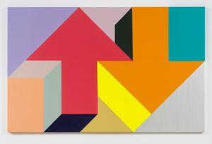 Arrow Painting 52 by Tony Tasset contemporary artwork
