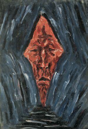Portrait No.4 by Mao Xuhui contemporary artwork