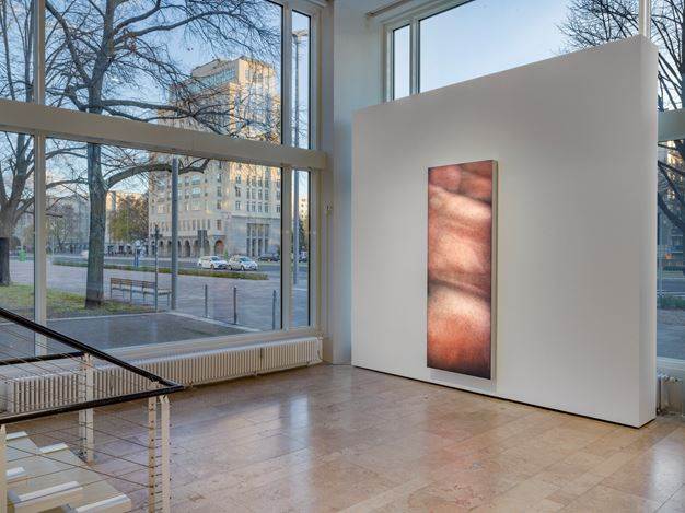 Exhibition view: Group Exhibition,Infinite Games, Capitain Petzel, Berlin (21 November 2020–30 January 2021). Courtesy Capitain Petzel. Artworks: Seth Price SooZee(2015–2017).