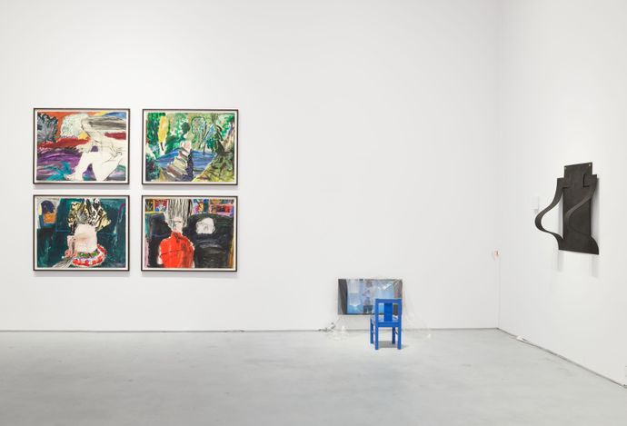 Exhibition view: Group Exhibition, We Were Already Gone, Hauser & Wirth,22nd Street, New York (14 May–5 June 2021). © Hauser & Wirth. Courtesy Hauser & Wirth. Photo: Thomas Barratt.