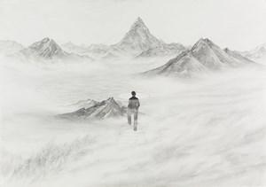 The Bluest Scene by Kim Yunsoo contemporary artwork