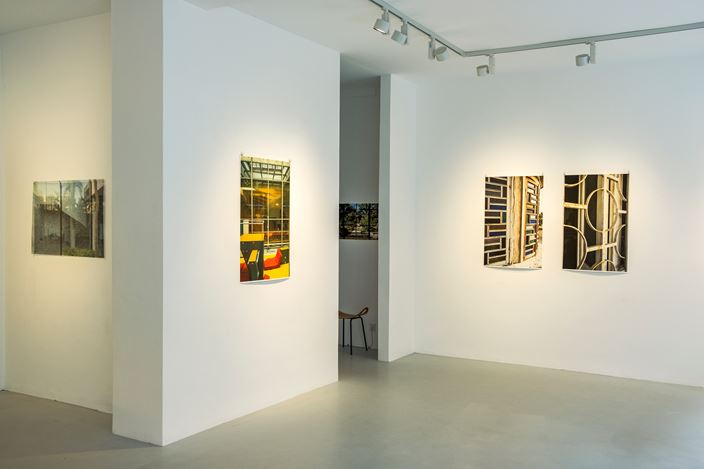 Exhibition view: Laura J. Padgett, Open Equations, Galerie—Peter—Sillem, Frankfurt (7 September–19 October 2019). Courtesy Galerie—Peter—Sillem.
