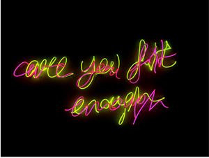 Are You Fit Enough by :mentalKLINIK contemporary artwork