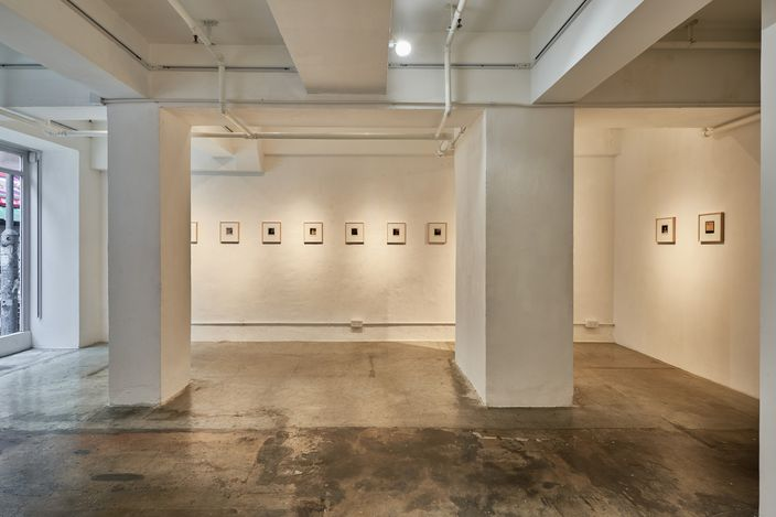 Exhibition view:Nobuyoshi Araki,Polaroids, SHOP Taka Ishii Gallery, Hong Kong (4 September–10 October 2021). Courtesy of SHOP Taka Ishii Gallery. Photo: Anthony Kar-Long Fan