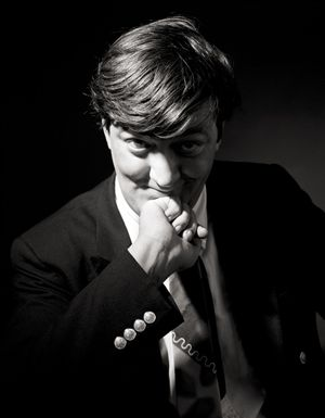Stephen Fry by Andy Gotts contemporary artwork photography, print