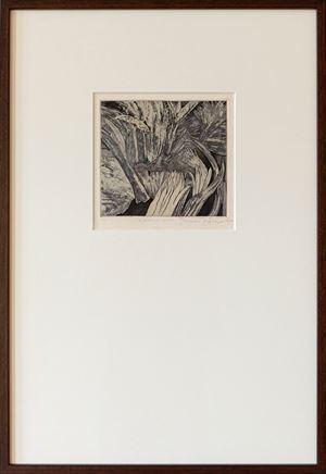 Midnight Lily by Mrinalini Mukherjee contemporary artwork print
