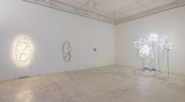 Contemporary art exhibition, Brigitte Kowanz, von neuem anders, anders als es vorher war at Galerie Krinzinger, Vienna