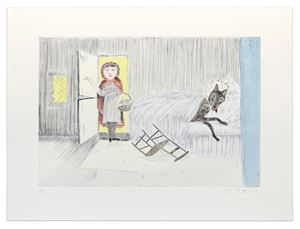Homecoming by Kiki Smith contemporary artwork