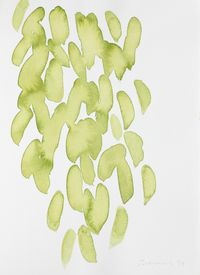 Untitled (Leaf Study 2) by William Turnbull contemporary artwork painting, works on paper