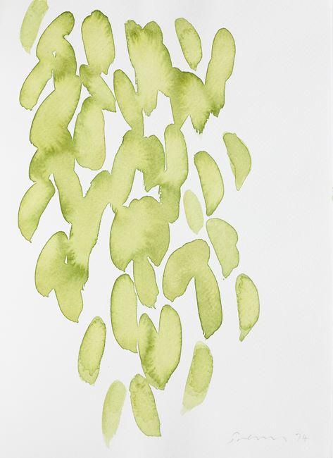 Untitled (Leaf Study 2) by William Turnbull contemporary artwork