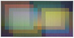 Physichromie 1965 by Carlos Cruz-Diez contemporary artwork