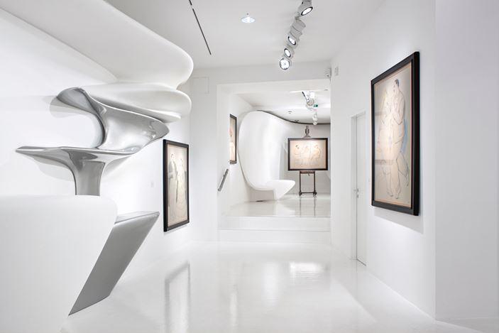 Exhibition view:Fernando Botero,BOTERO: Recent Works,Galerie Gmurzynska, Paradelplatz 2, Zurich (9–30 April 2020). Courtesy Galerie Gmurzynska.