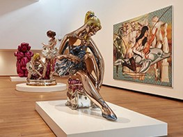 Jeff Koons is putting a new shine on the Ashmolean