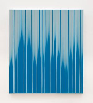 Blue Noise by Mark Francis contemporary artwork