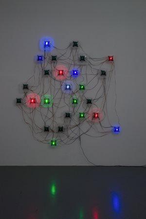 Life (le corps sans organes) - no.12 by Tatsuo Miyajima contemporary artwork