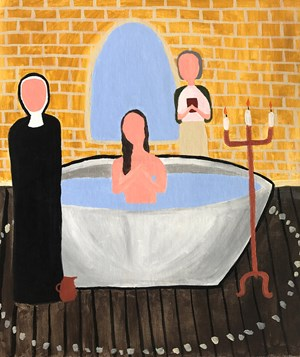 Holy Water by Justin Hinder contemporary artwork