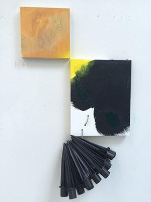 Cornered by Jessica Stockholder contemporary artwork