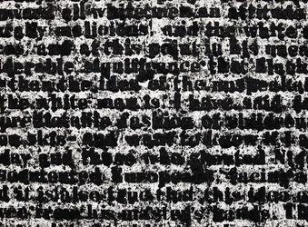 Contemporary art exhibition, Glenn Ligon, First Contact at Hauser & Wirth, Limmatstrasse, Zürich, Switzerland