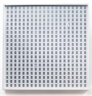 Silver Line by Marco Maggi contemporary artwork