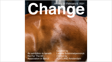 Contemporary art exhibition, Group Exhibition, Change at FLATLAND, Amsterdam