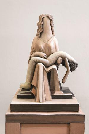 Pietà 2: Strange Coast by Cathie Pilkington contemporary artwork