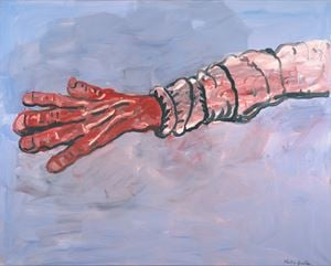 Arm by Philip Guston contemporary artwork
