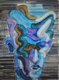Temptation of Brushing Past 2021-2 by Etsu Egami contemporary artwork painting