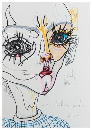 Beauty little by Del Kathryn Barton contemporary artwork