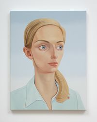 Vita Ventura 2, 1978 (OBE) Estelle by Peter Stichbury contemporary artwork painting, works on paper