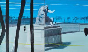 Sans titre (Jardins obscurs #3) by Marc Desgrandchamps contemporary artwork