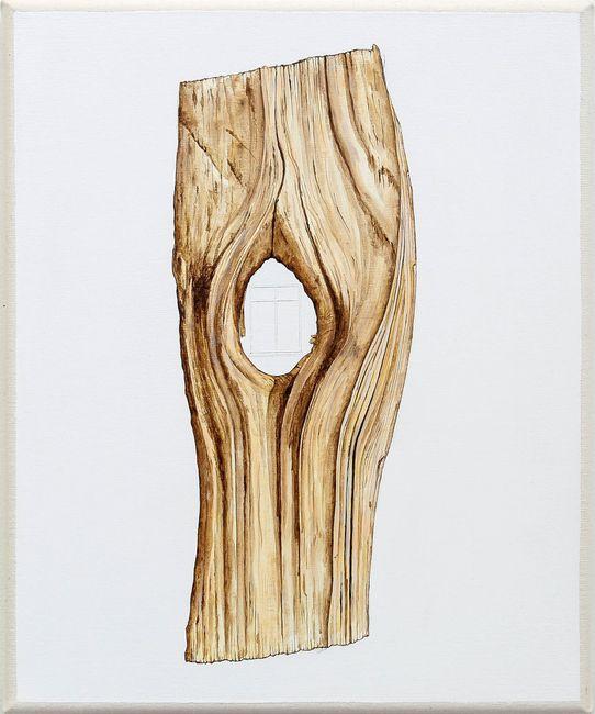 Pine Eyes by Zina Swanson contemporary artwork