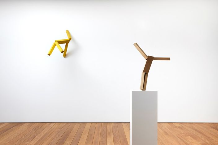 Exhibition view: Joel Shapiro, Pace Gallery, Seoul (22 July–11 September 2021). © 2019 Joel Shapiro / Artists Rights Society (ARS), New York. Courtesy Pace Gallery.