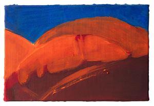 Le soleil brûlant un côté de mon visage by Christine Safa contemporary artwork