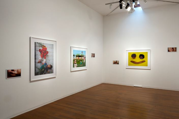 Exhibition view: Destiny Deacon, Not Just Fun and Games, Roslyn Oxley9 Gallery (29 August–30 September 2017). Courtesy Roslyn Oxley9 Gallery.