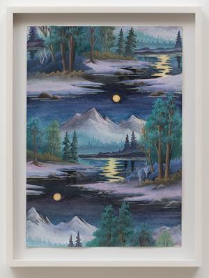 Golden Moon by Neil Raitt contemporary artwork