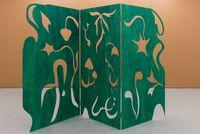 Forest fold by Essi Airisniemi contemporary artwork sculpture