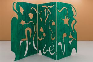 Forest fold by Essi Airisniemi contemporary artwork