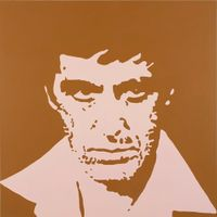 Scarface by Merlin Carpenter contemporary artwork painting