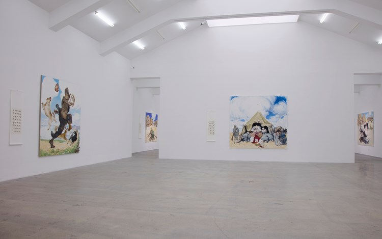 Exhibition view: Wang Xingwei, Honor and Disgrace at Platform China, Galerie Urs Meile, Beijing (10 September–23 October 2016). Courtesy the artist and Galerie Urs Meile, Beijing-Lucerne.
