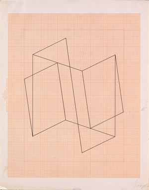 Structural Constellation (JAAF 1976.3.1534) by Josef Albers contemporary artwork