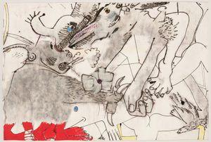 Conejo [Rabbit] by Knox Martin contemporary artwork